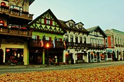 Pacific Northwest Framed Prints - Leavenworth Autumn Framed Print by Benjamin Yeager