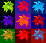 Gail Matthews - Leaves All Aglow Collage