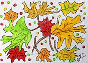 Kathy Marrs Chandler - Leaves are Falling