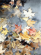 Marshall Bannister - Leaves In Puddle 2