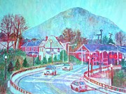 Impressionism Originals - Leaving Roanoke by Kendall Kessler