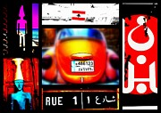 Pop Art Photos - Lebanon Funky World by Funkpix Photo Hunter