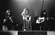 Led Zeppelin Photo Prints - Led Zeppelin 1971 Print by Chris Walter