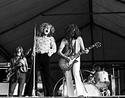 Led Zeppelin Photo Prints - Led Zeppelin Bath Festival 1969 Print by Chris Walter