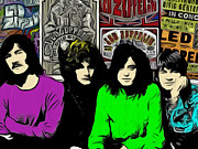 Yardbirds Framed Prints - Led Zeppelin Framed Print by Glenn Cotler