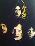 Led Zeppelin Prints - Led Zeppelin Print by Matt Burke