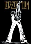 Led Zeppelin No.06 Print by Caio Caldas