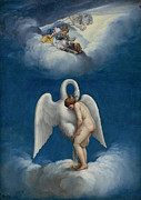Famous Artists - Leda and the Swan by Lelio Orsi