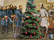 At Poster Digital Art - Lee and Grant at Appomattox by Joseph Juvenal