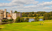 Putt Photos - Leeds Castle Golf 2 by Chris Thaxter