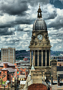 City Hall Prints - Leeds Town Hall Print by Karl Wilson