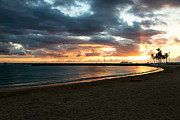Sunset Prints Originals - Leeward Sunset by Jon Burch Photography