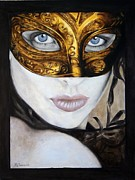 Mardi Gras Paintings - LeFacade by Maxx Phoenixx