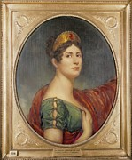 Neo-classical Posters - Lefevre, Robert 1755-1830. The Empress Poster by Everett