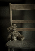 Stuffed Bear Prints - Left Behind Print by Amy Weiss
