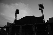 Left Field Prints - Left Field Silhouette Print by Paul Scolieri