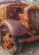 Antique Look Digital Art - Left Out to Weather and Rust - series #1 of 2 by Janice Sakry