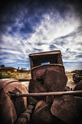 Rusted Cars Framed Prints - Left to Rust Framed Print by Anthony Citro