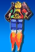 Leg Me Go Print by Monty Dean