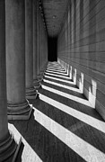 Robert Marble Prints - Legion Breezeway Print by Robert Woodward