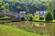 Old Bridge Photos - Lehon - Brittany by Joana Kruse