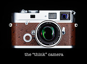 Rangefinder Metal Prints - Leica M7 Metal Print by David Bowman