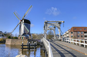 Historic Mill Framed Prints - Leiden Framed Print by Joana Kruse