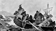 Well Known People Prints - Leif Ericson Norse Explorer Print by Photo Researchers
