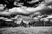 Cloudy Photo Prints - Lembert Dome Print by Cat Connor