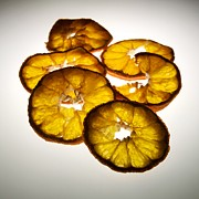 Disc Photo Prints - Lemon Print by Bernard Jaubert