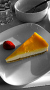 Phil Paynter - Lemon Cheesecake At Cafe