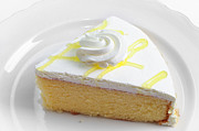 Layer Prints - Lemon Chiffon Cake - Baker - Bakery Shoppe Print by Andee Photography