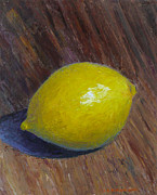 Jennifer Richards - Lemon on wooden table