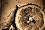 Simon Bratt Photography LRPS - Lemon slices in fizzy water old style