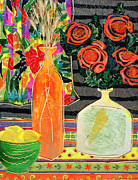Lemon Squash And Pumpkin Print by Diane Fine