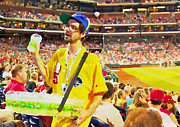 Phillies  Posters - Lemonade For Sale Poster by Alice Gipson