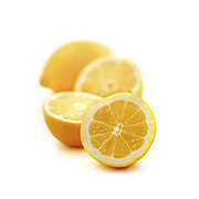 Lemon Metal Prints - Lemons Metal Print by Elena Elisseeva