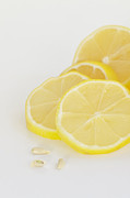 Lemon Art Photo Posters - Lemons Poster by Kay Pickens