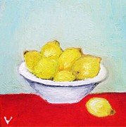 Decorating Mixed Media - Lemons by Venus
