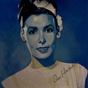 Famous Faces Painting Originals - Lena Horne by Chelle Brantley