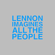 John Digital Art - Lennon Imagines by NicoWriter