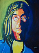 John Lennon Painting Originals - Lennon by Justin Lee Williams