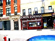 Cotton Club Framed Prints - Lenox Lounge Harlem 2005 Framed Print by Cleaster Cotton