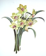 Lent Lily Print by Tracey Harrington-Simpson