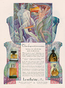 Featured Art - Lentheric 1926 1920s Usa Cc Womens Art by The Advertising Archives