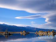 Dennis Flaherty - Lenticular Cloud over Mono Lake