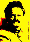 Expressive Expressions Digital Art - Leon Trotsky by David Skrypnyk