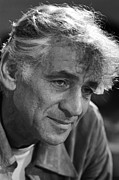 Bernstein Prints - Leonard Bernstein Print by Mountain Dreams