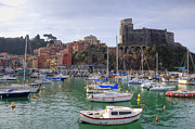 Harbour Framed Prints - Lerici Framed Print by Joana Kruse
