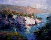 R W Goetting - Les Calanques at dusk II